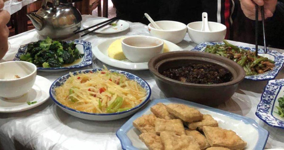 乌镇小菜馆